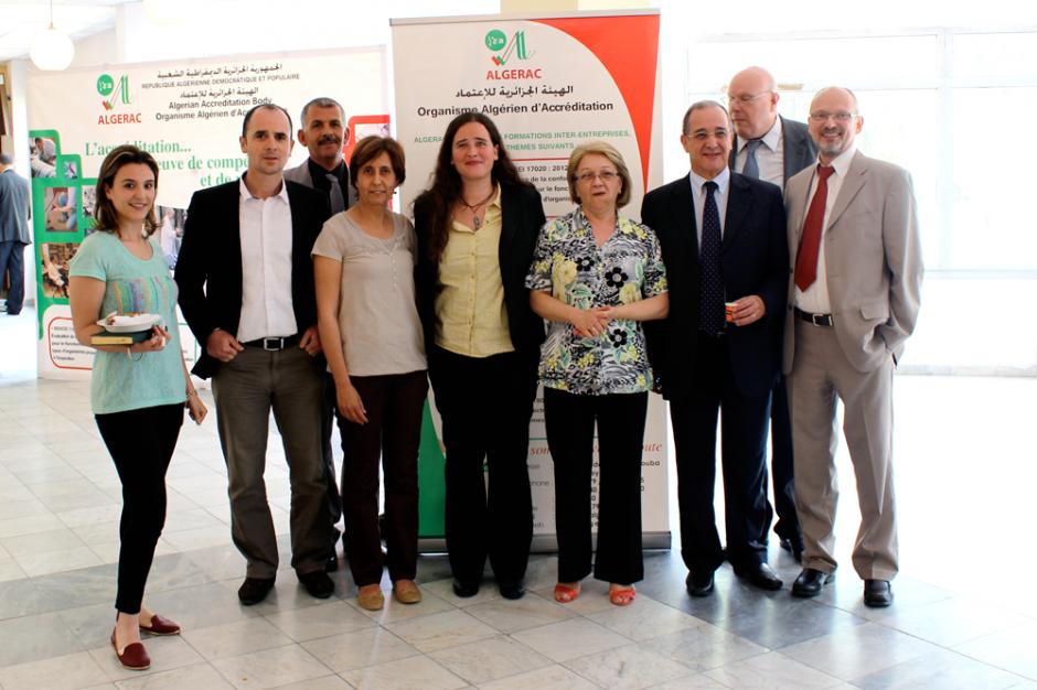 Algerische und deutsche Projektpartner bei der Twinning light-Abschlusskonferenz